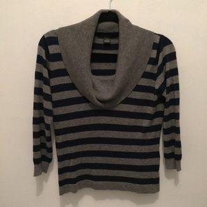 August Silk Cowl Neck Sweater